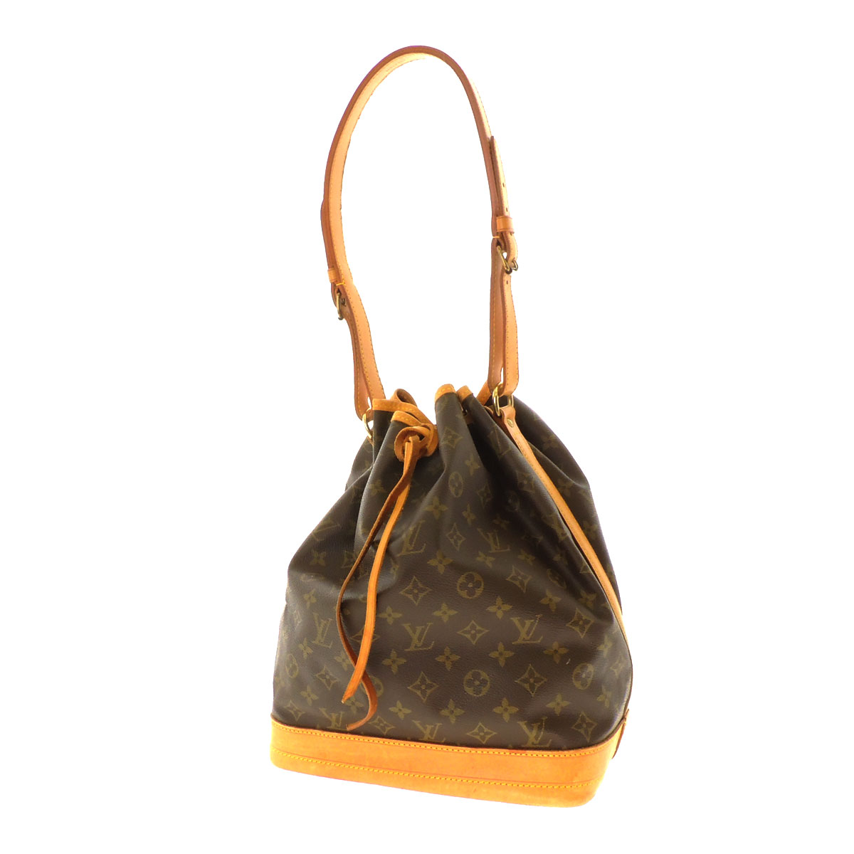 LOUIS VUITTON Noe M42224 shoulder bag monogram canvas Lady's fs3gm