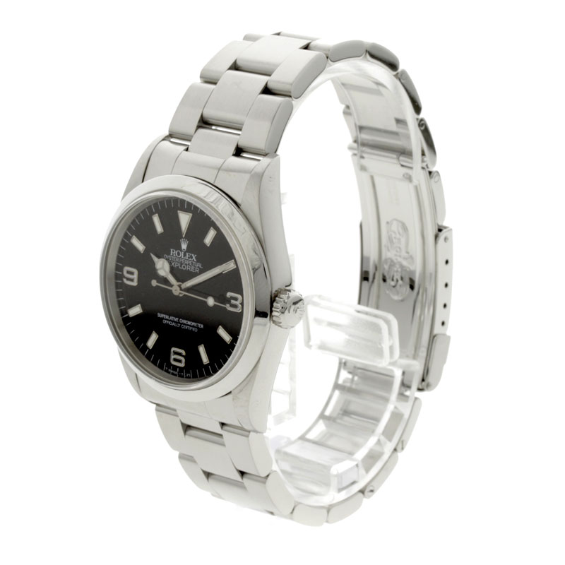14270 ROLEX オイスターパーペチュアルエクスプローラー watch SS men