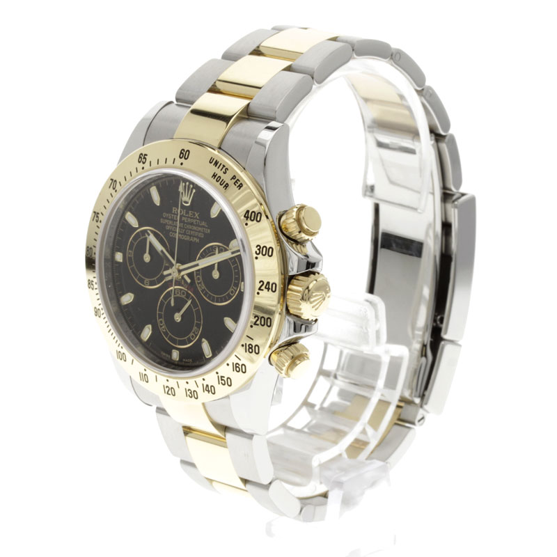 ROLEX Cosmograph Daytona 116523 watch SS mens fs3gm