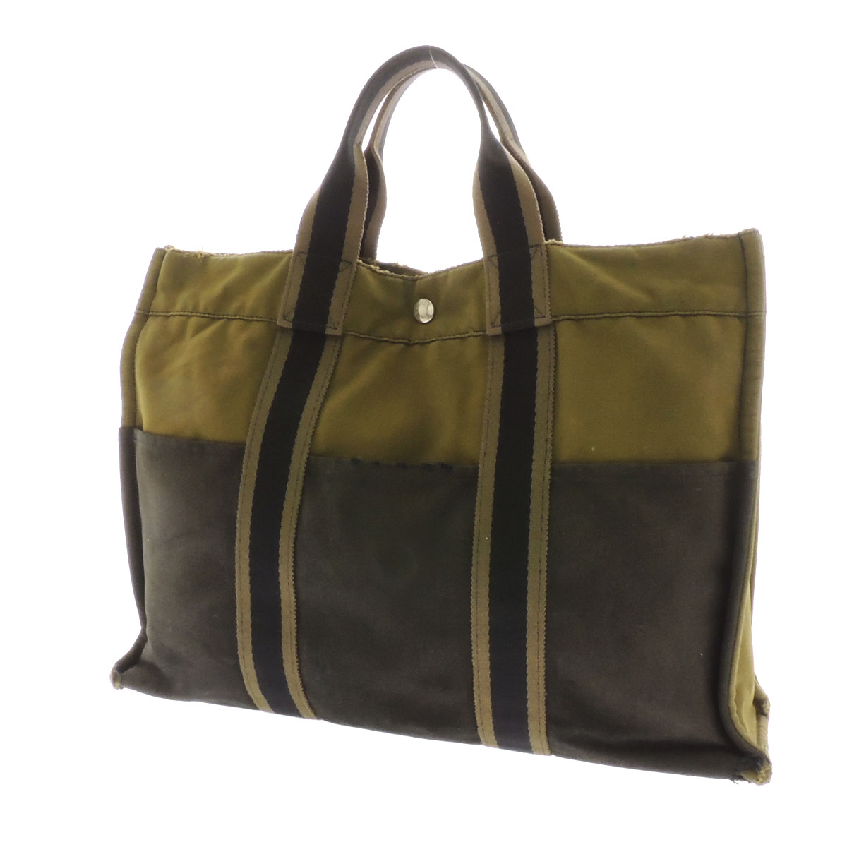 HERMES Sacher, to MM tote bag canvas unisex