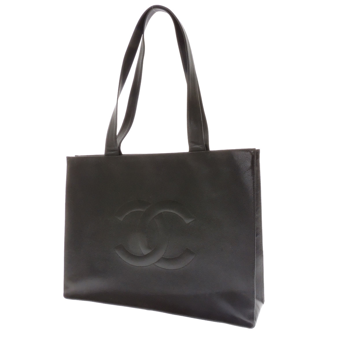 CHANEL here mark tote bag leather Lady's fs3gm