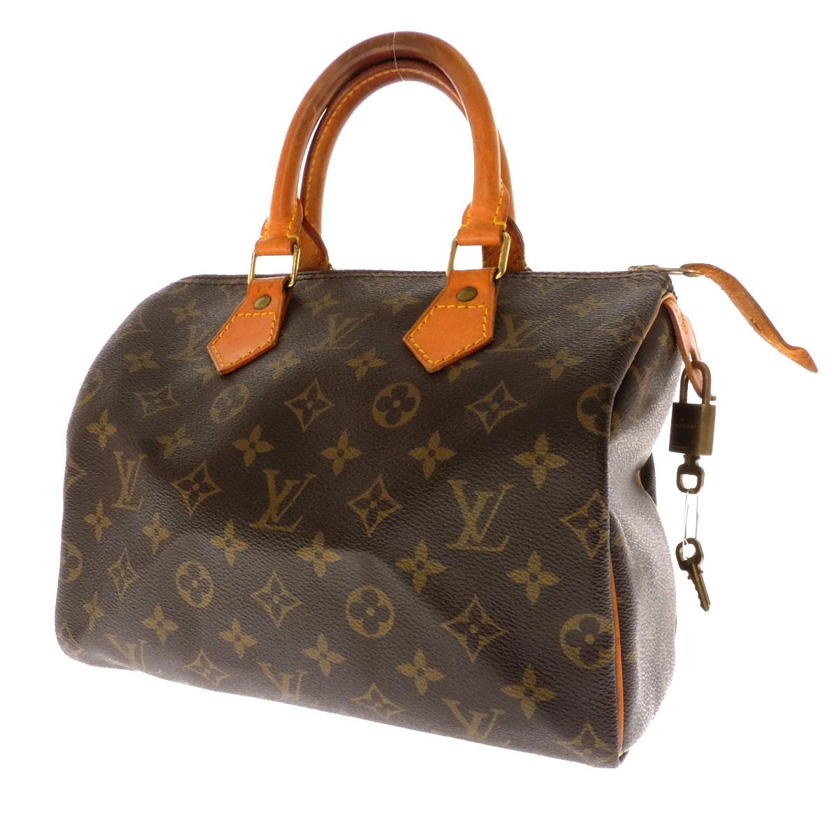 LOUIS VUITTON speedy 25 M 41528 Monogram Canvas ladies handbag