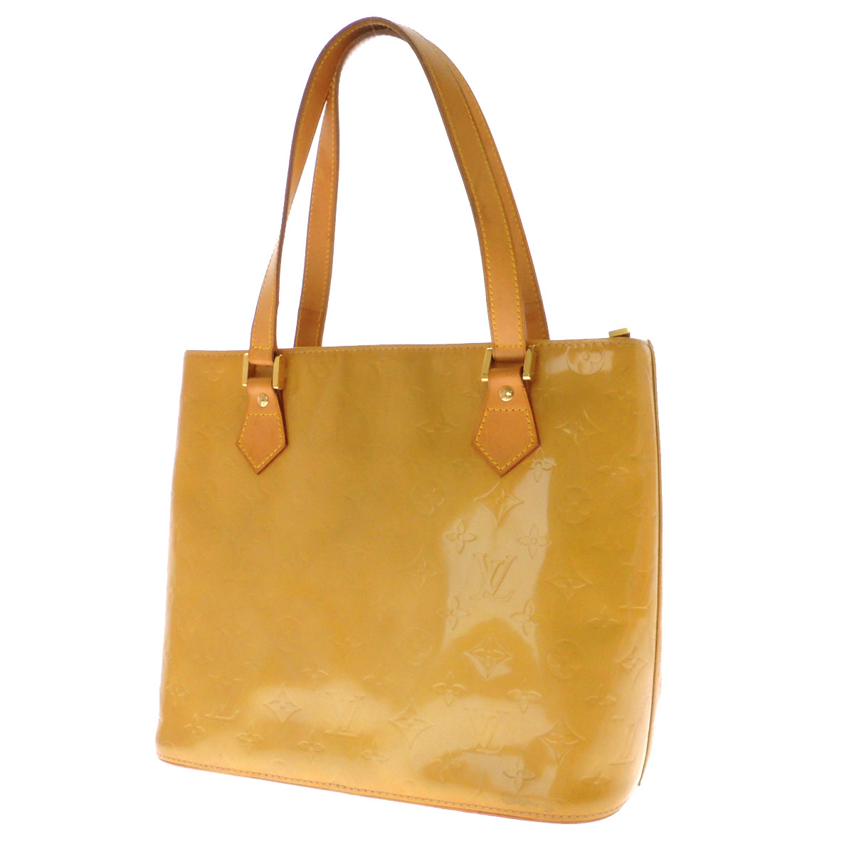 Women's tote bags Monogram Verni, LOUIS VUITTON Houston M91004