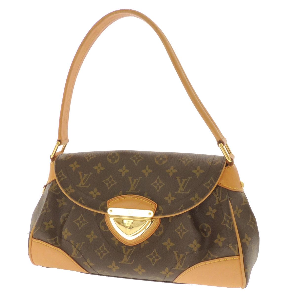 Women's shoulder bag Monogram Canvas, LOUIS VUITTON Beverly MM M40121