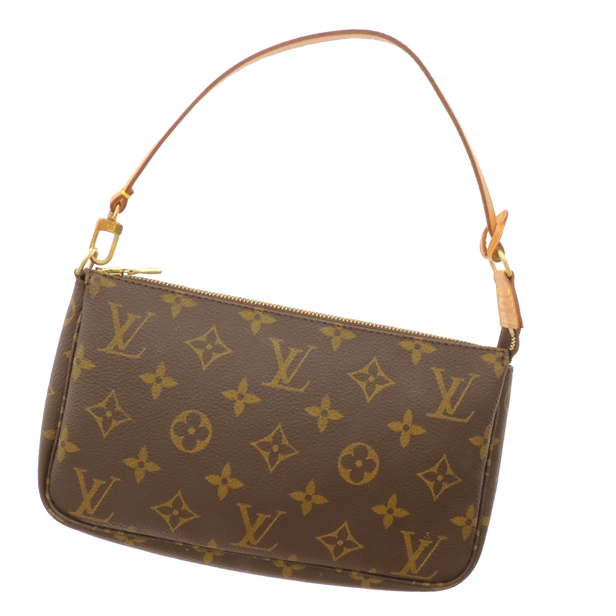 LOUIS VUITTON ポシェットアクセソワール M51980 accessories porch monogram canvas Lady's fs3gm