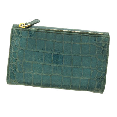 MIUMIU logo wallet ( purses and ) Leather Womens