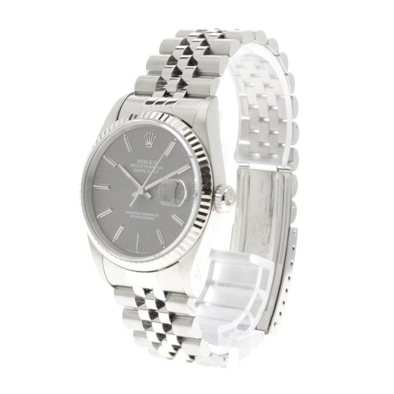 16234 ROLEX オイスターパーペチュアルデイトジャスト watch K18WG/SS men