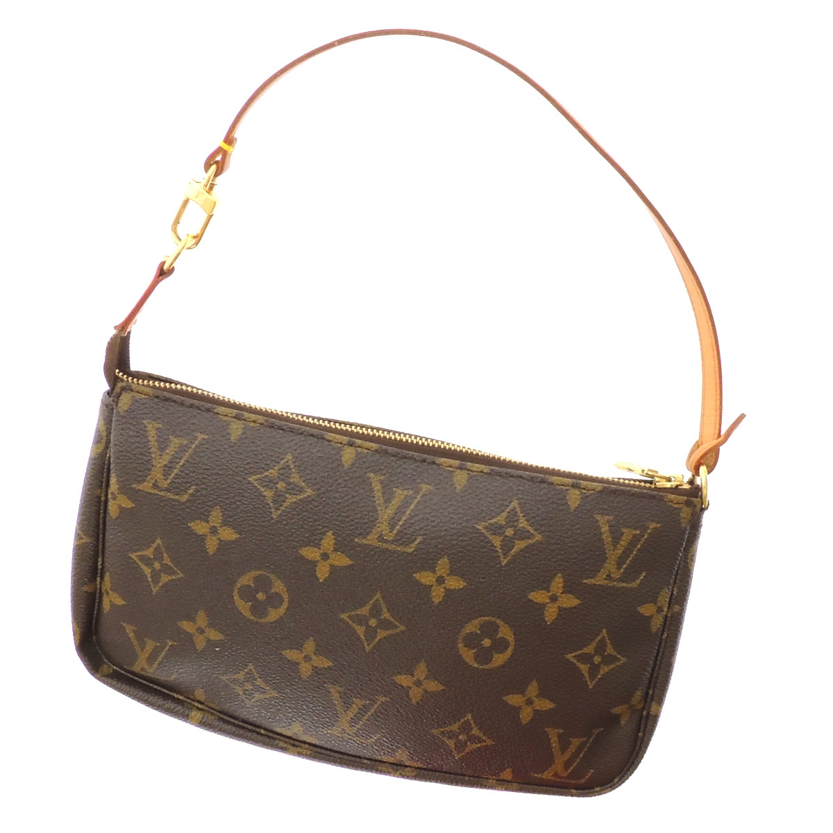 LOUIS VUITTON Accessoires or M51980 accessory pouch Monogram Canvas ladies fs3gm