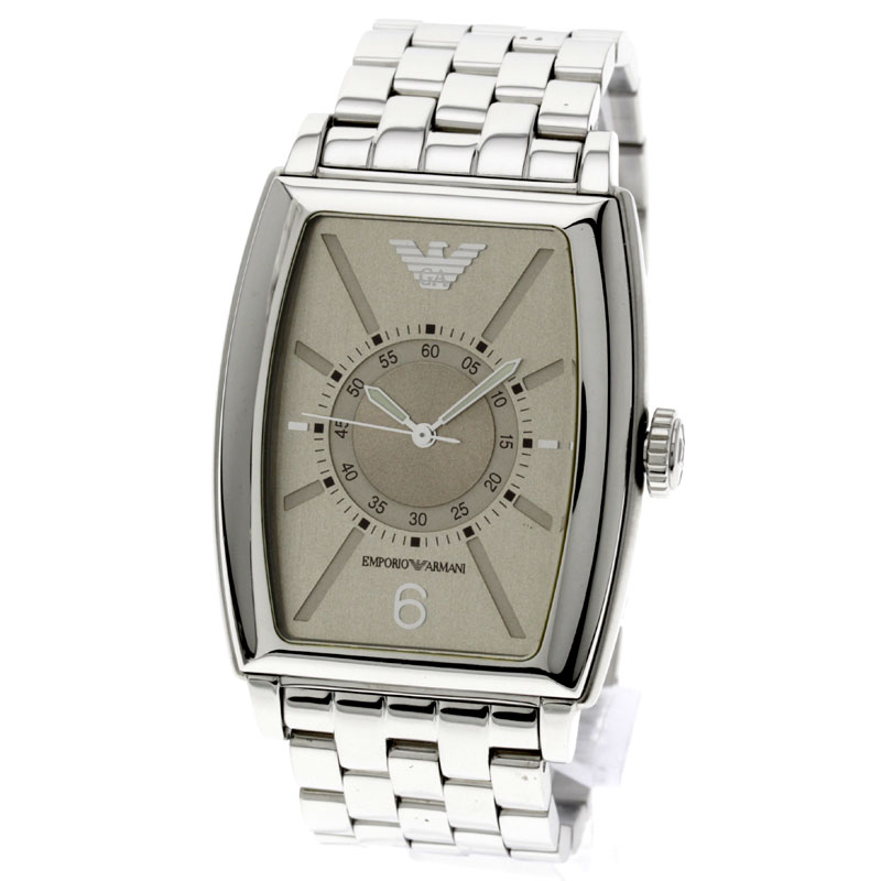 Emporio Armani AR0911 watch stainless steel men
