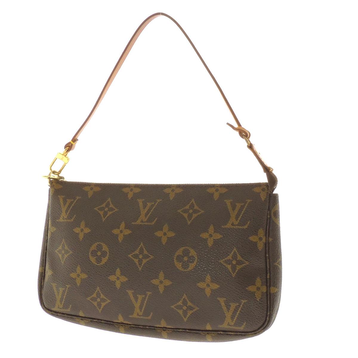 Women's accessory pouch Monogram Canvas, LOUIS VUITTON Accessoires or M51980