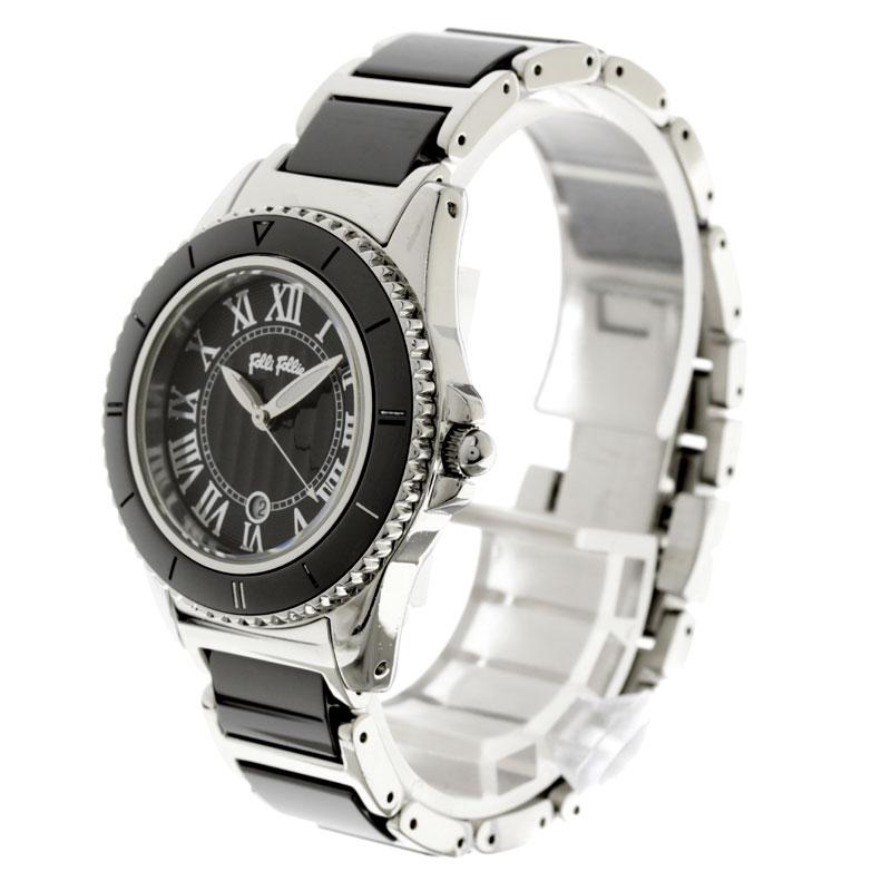费利 Follie WF6T069BD 手表不锈钢和陶瓷妇女
