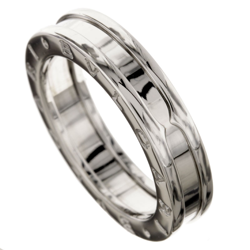 BVLGARI B-zero X ring, ring K18 white gold ladies