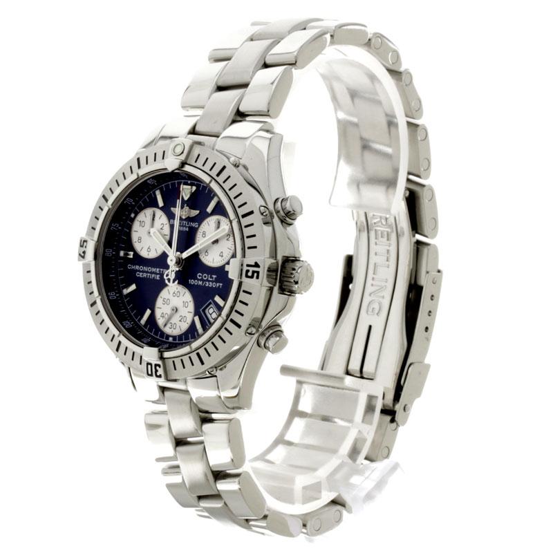 百年灵驹 A73350 手表不锈钢男孩
