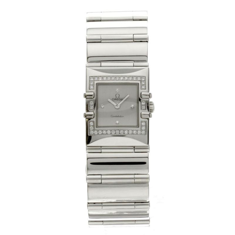 OMEGA constellation カレクアドラ 1528-36 stainless steel women's watch