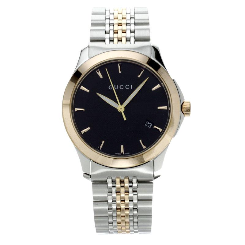 男子的GUCCI 126.4手表不锈钢/GP fs3gm