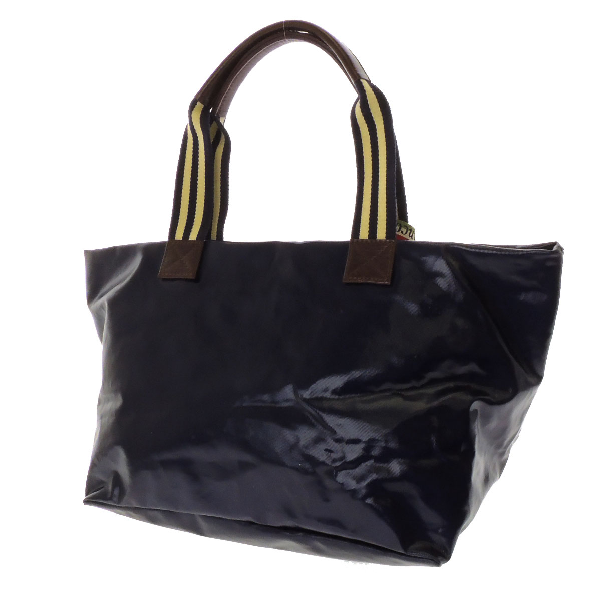 OROBIANCO slim with tote bag nylon x leather unisex