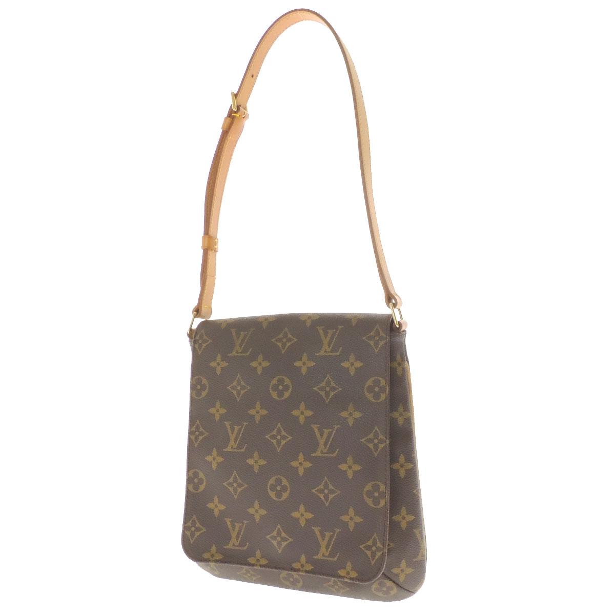 LOUIS VUITTON musette salsa S M51258 shoulder bag monogram canvas Lady's fs3gm