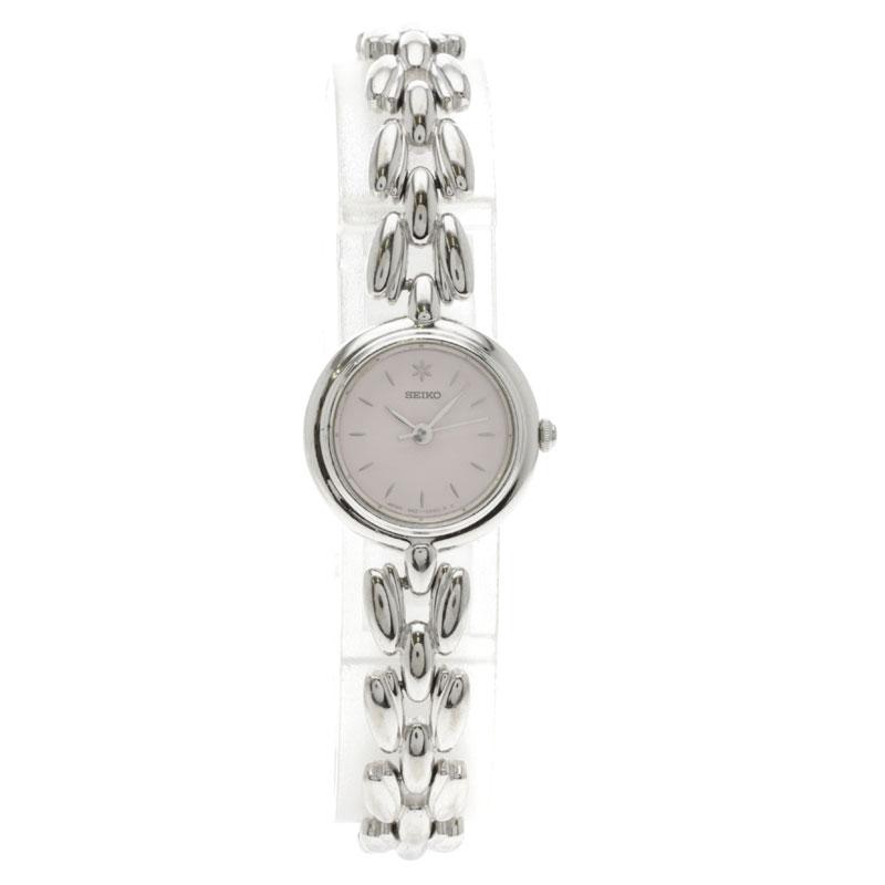 精工 4N21 0740年手表不锈钢女士