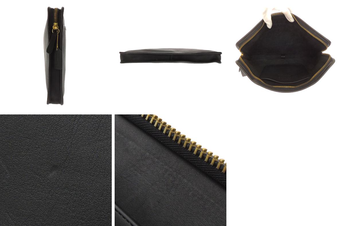 COACH 5225文件情况离合器袋商务包皮革男女两用