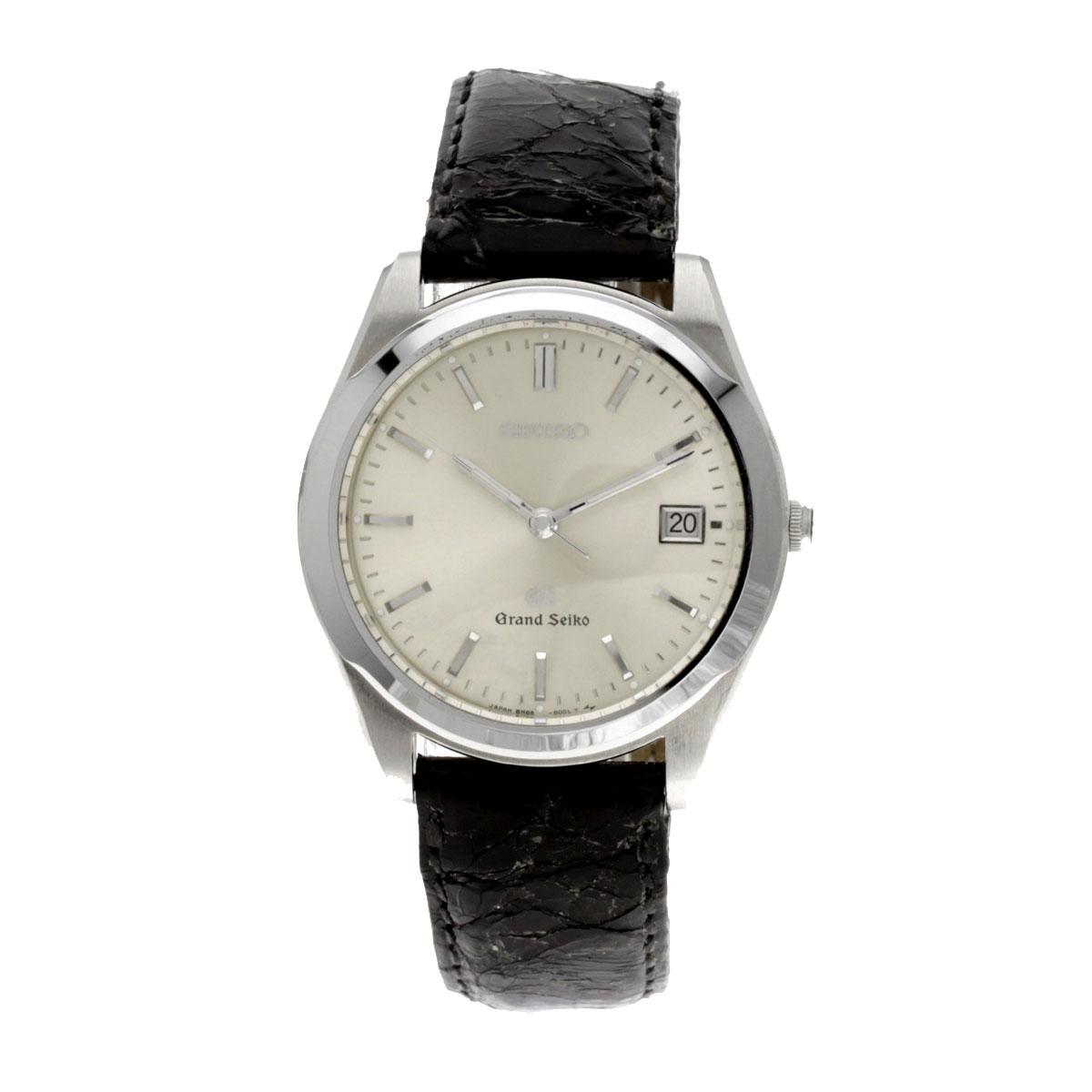 SEIKO ground SEIKO watch stainless steel / Boletopsis leucomelas men fs3gm