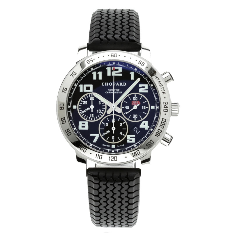 Chopard ミッレミリア watch stainless steel / rubber men fs3gm