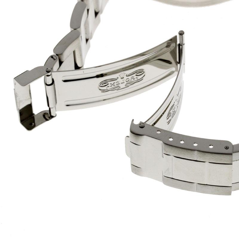 男子的ROLEX日期确切帆船主人16622手表不锈钢upup7