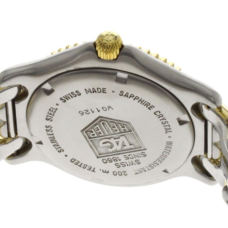 TAG HEUER S/el专业人员WG1126手表不锈钢/GP人