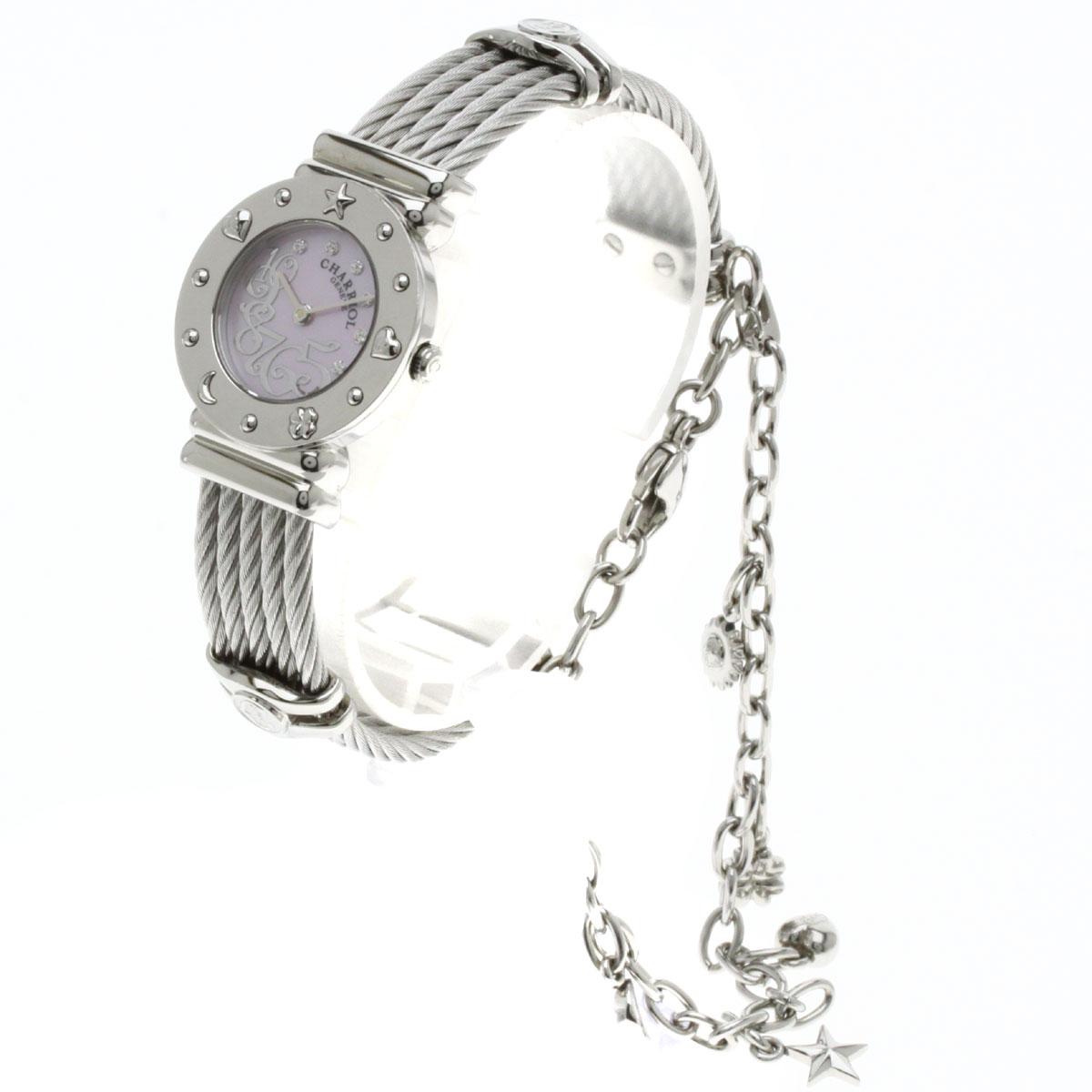PHILIPPE CHARRIOL REF.028/2手表不锈钢女士