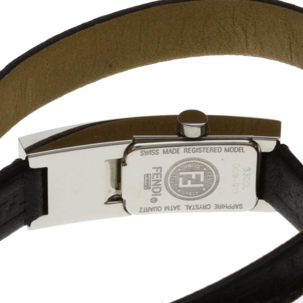 芬迪 3300 L 手表不锈钢女士