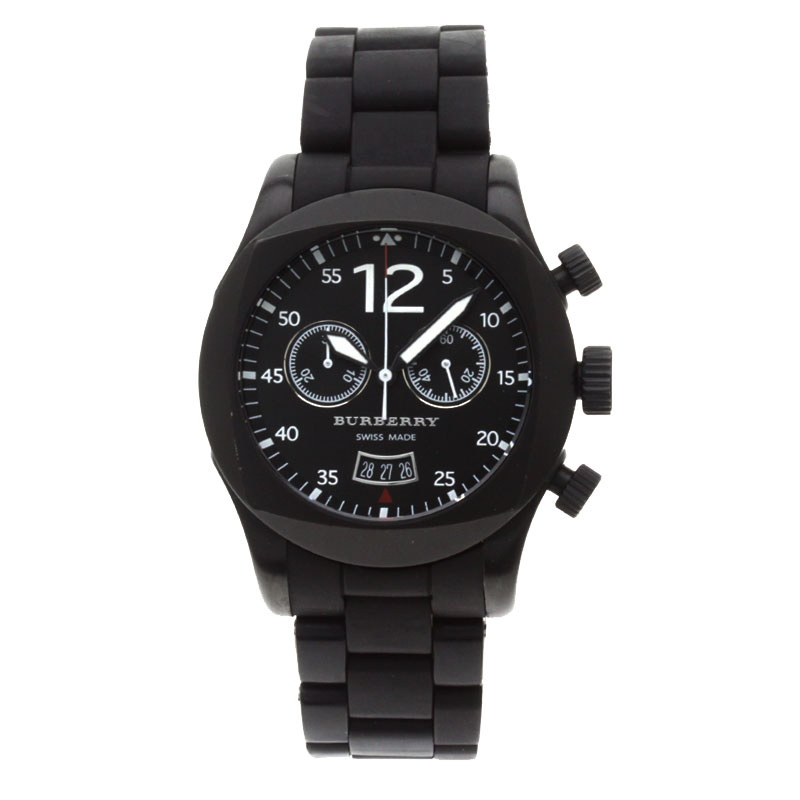 男装巴宝莉 BU7640 手表不锈钢 / 橡胶