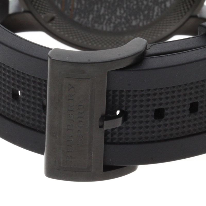 男装巴宝莉 BU7710 手表不锈钢 / 橡胶