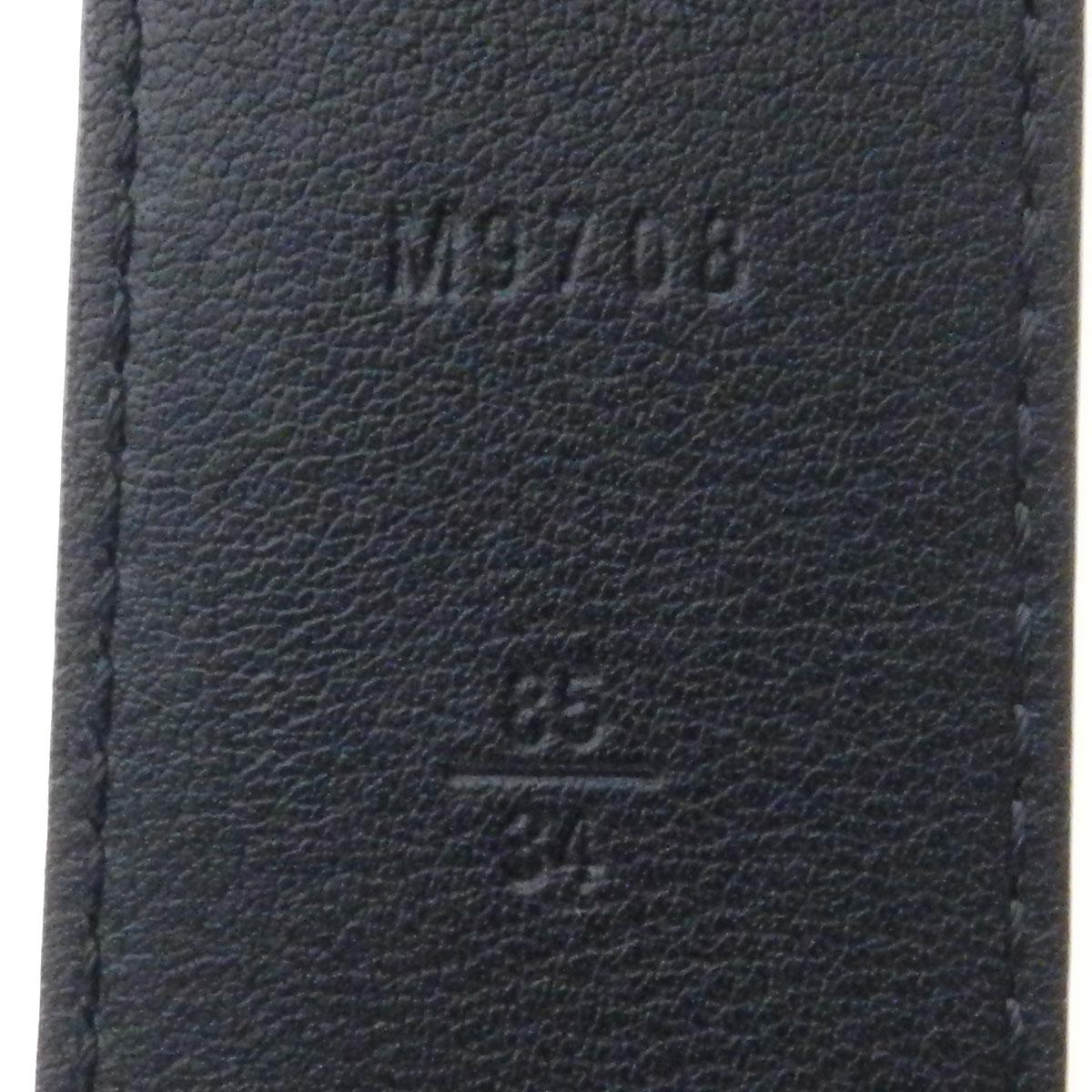 太阳薄纱悉尼 M9708 路易威登皮带双色格子帆布男子