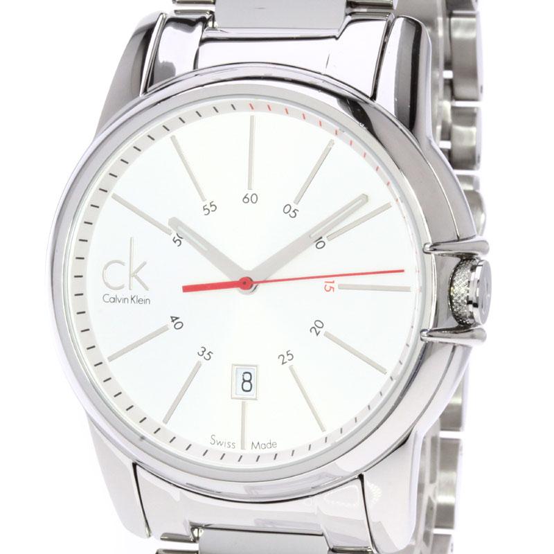 卡尔文 · 克莱因 K0A.211 手表不锈钢男装 fs04gm