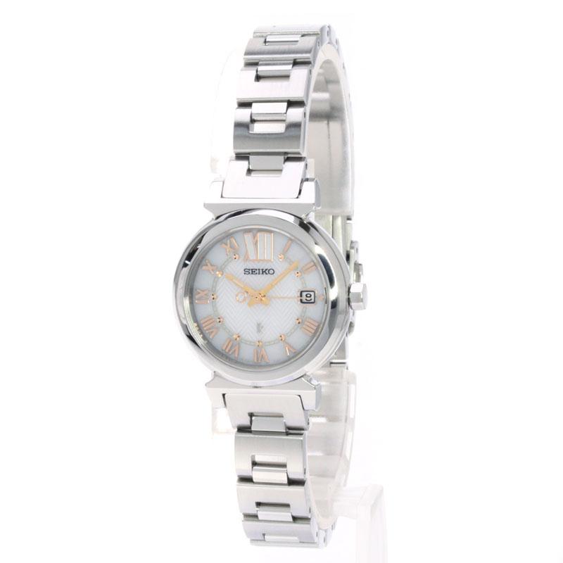 露琪亚 V137 0AE0 精工手表不锈钢女装 fs04gm
