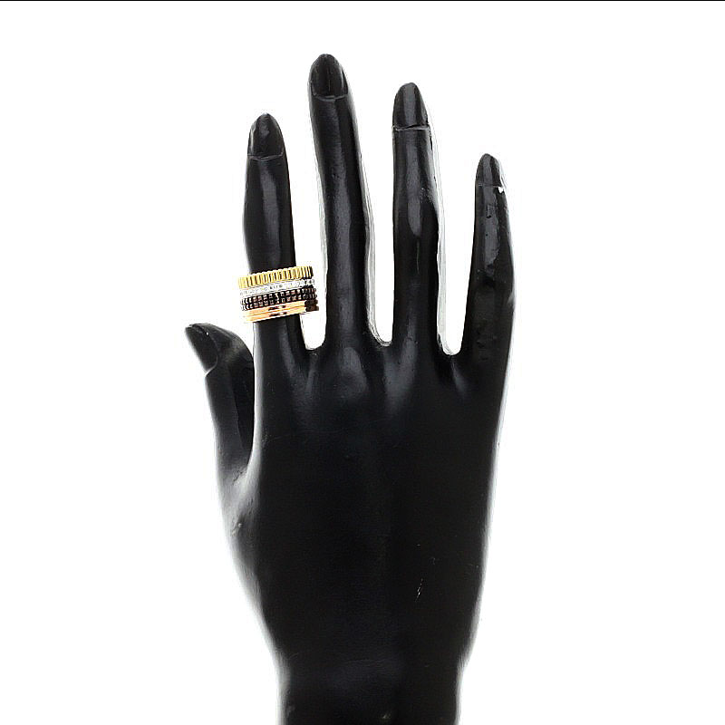 Boucheron kyatoru LM钻石戒指、戒指K18黄色黄金/K18PG女士