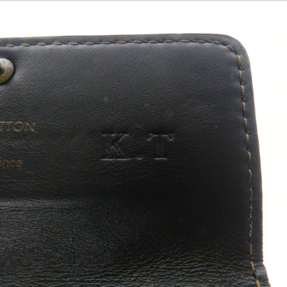LOUIS VUITTON Utah multicore M95539 key holder Leather Womens