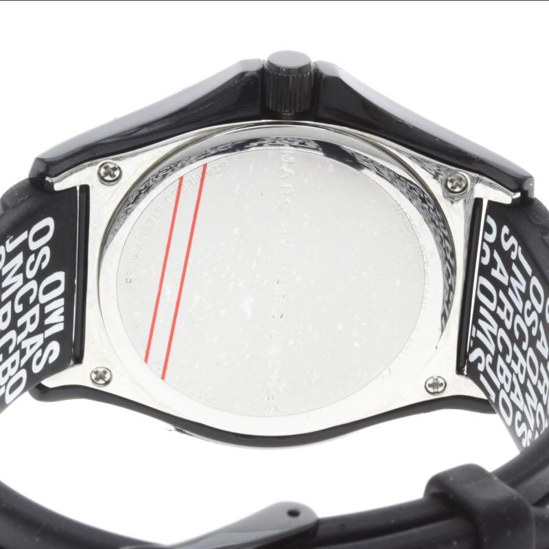由马克 · 雅各布斯 MBM4006C SS 马克 / 橡胶男士手表