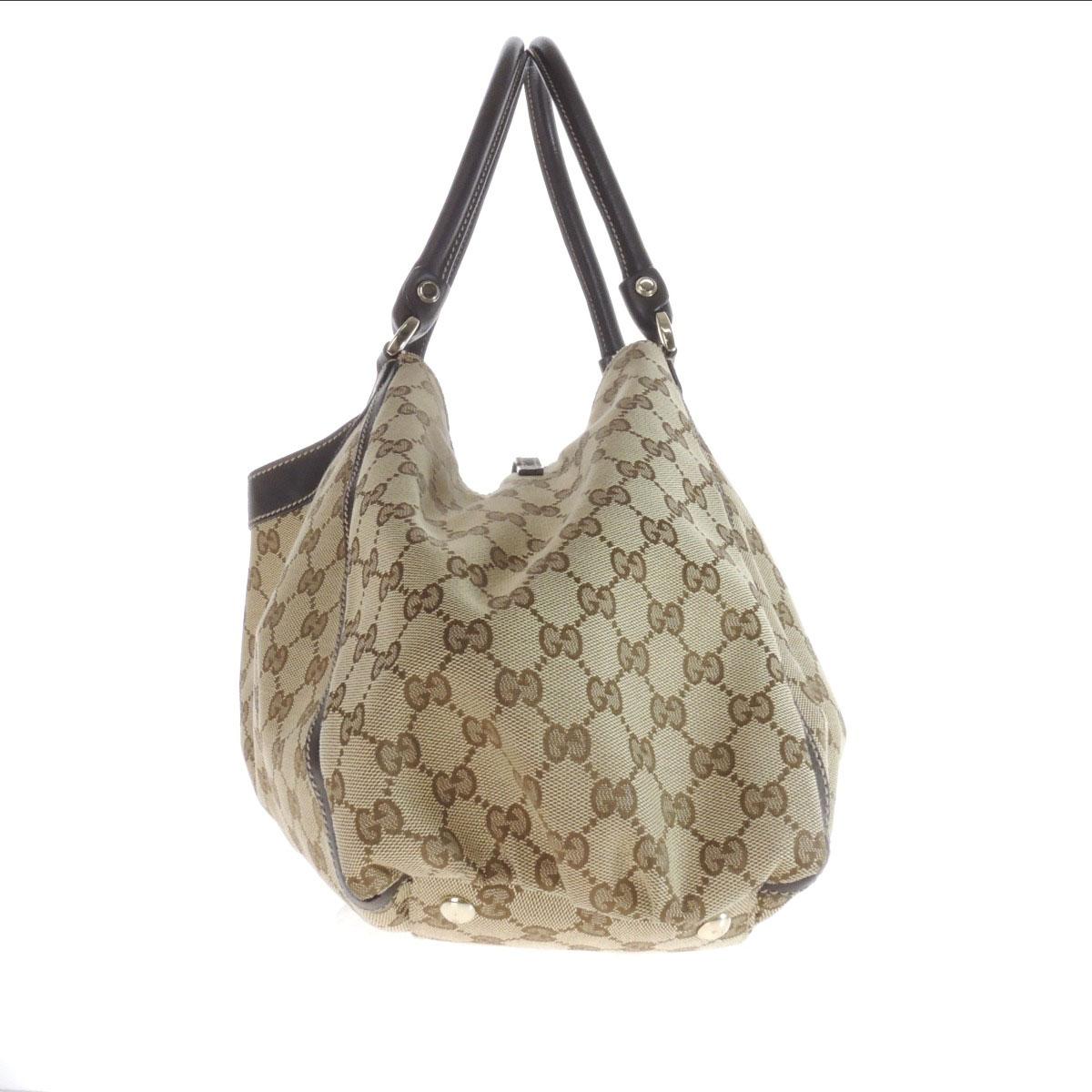 GUCCI GG 189835 506631 手袋帆布女性