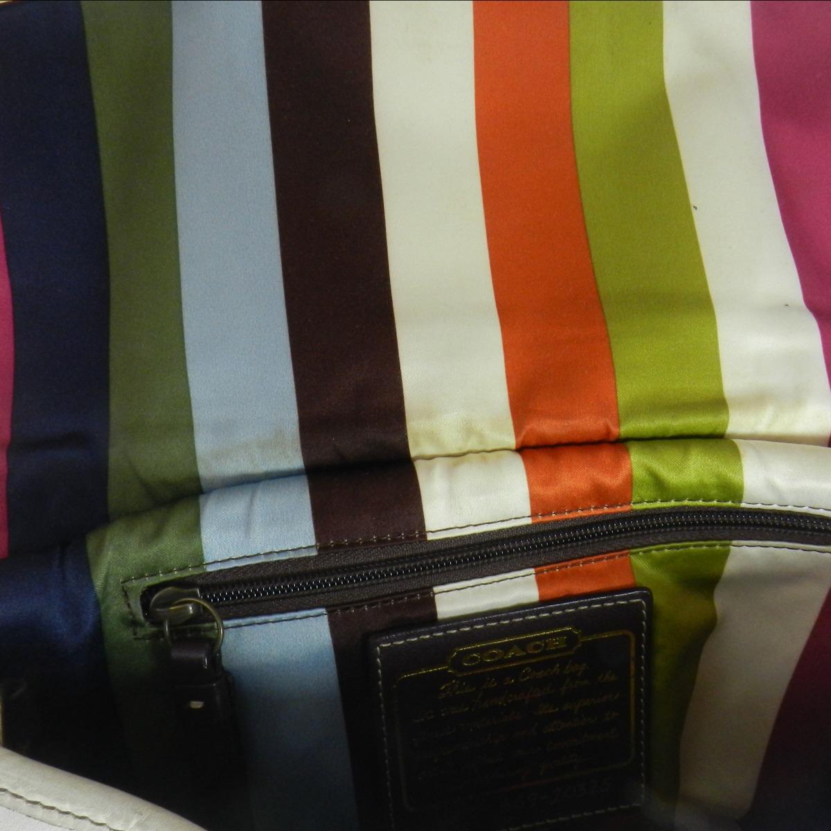 Authentic COACH  10325 Legacy hippie Shoulder bag Leather