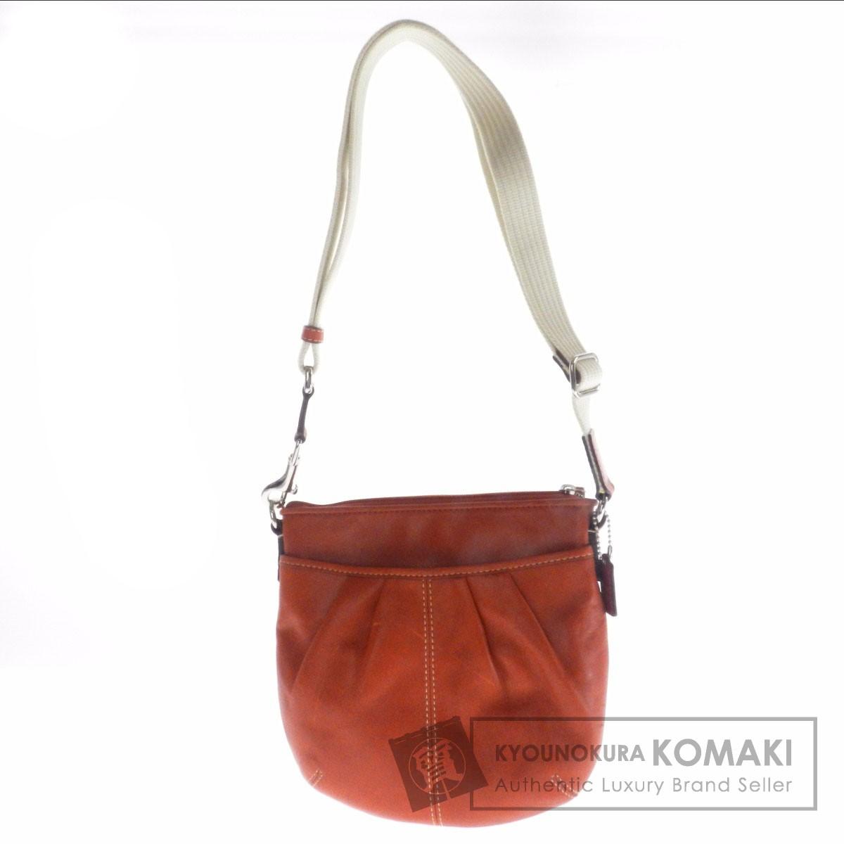 Authentic COACH  Puriteddo F42833 Shoulder bag Leather