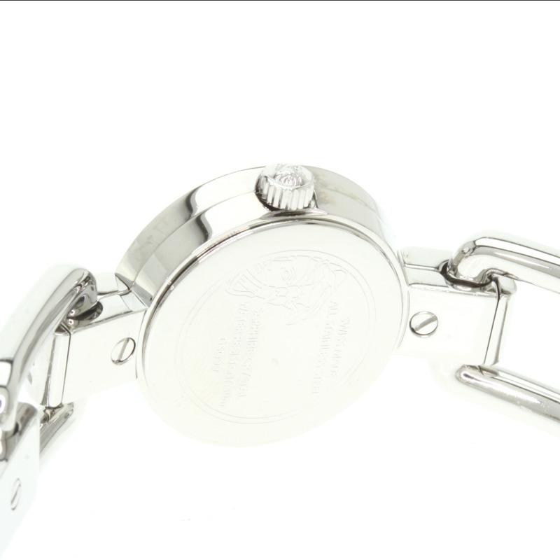詹尼 VersaceDSQ99 康瓦尔语美杜莎手表不锈钢 /SS 女士