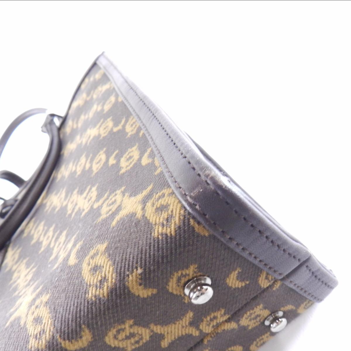 Authentic CELENCEE  Belt design Handbag Canvas