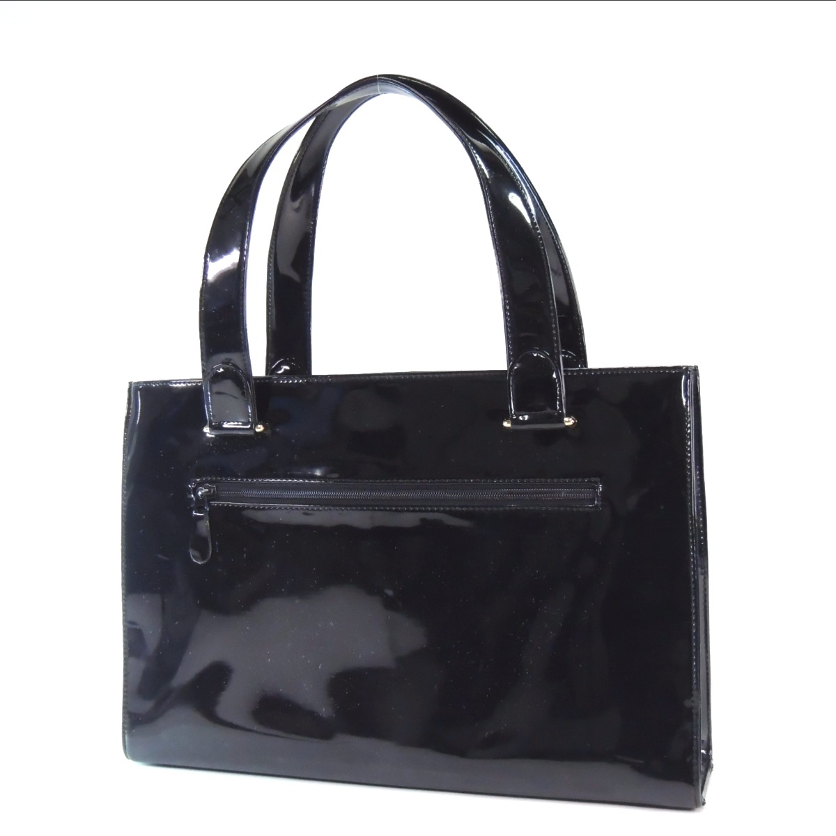 Authentic YUKI TORII  Hardware with logo Tote bag Vinyl