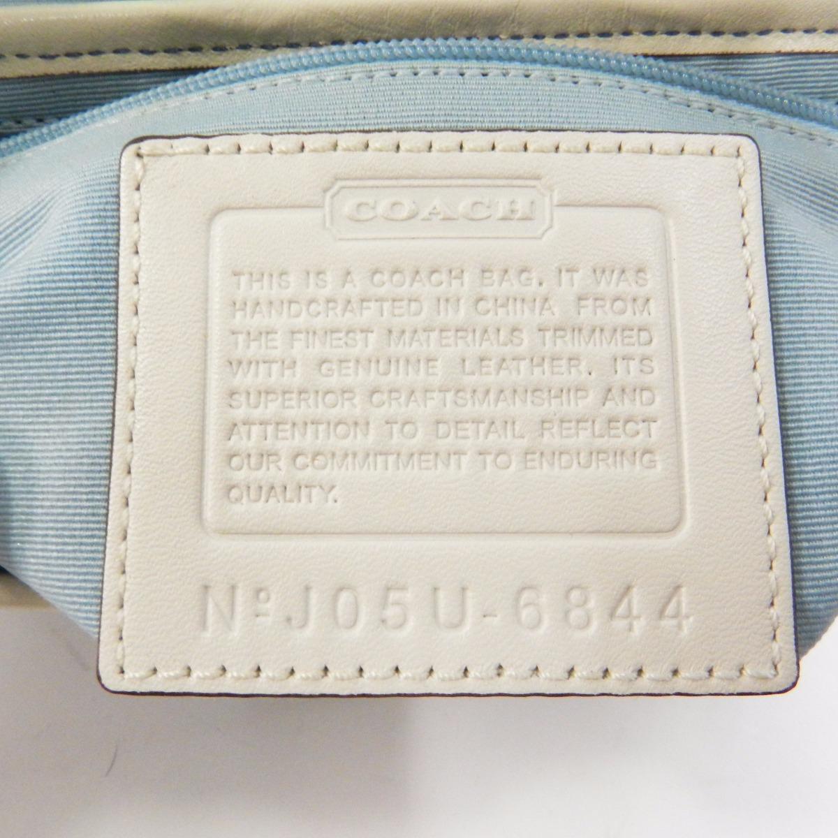 COACH 6344信号挎包帆布/皮革女士