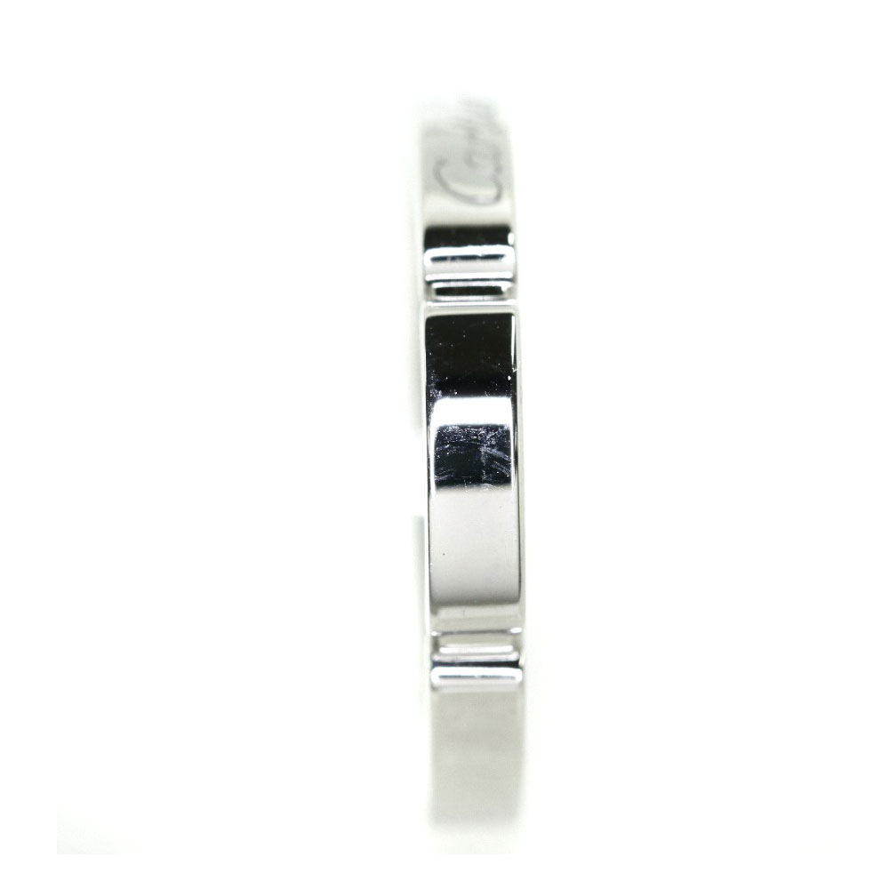 Authentic CARTIER  Maillon PANTHERE Ring 18K White Gold