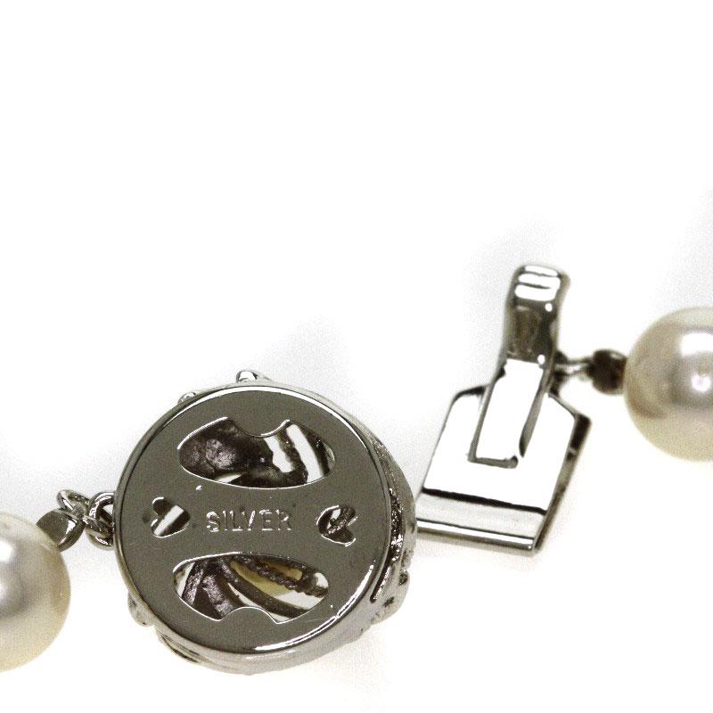 真珠 ネックレス シルバー 50 7g レディースlKu31JTFc5