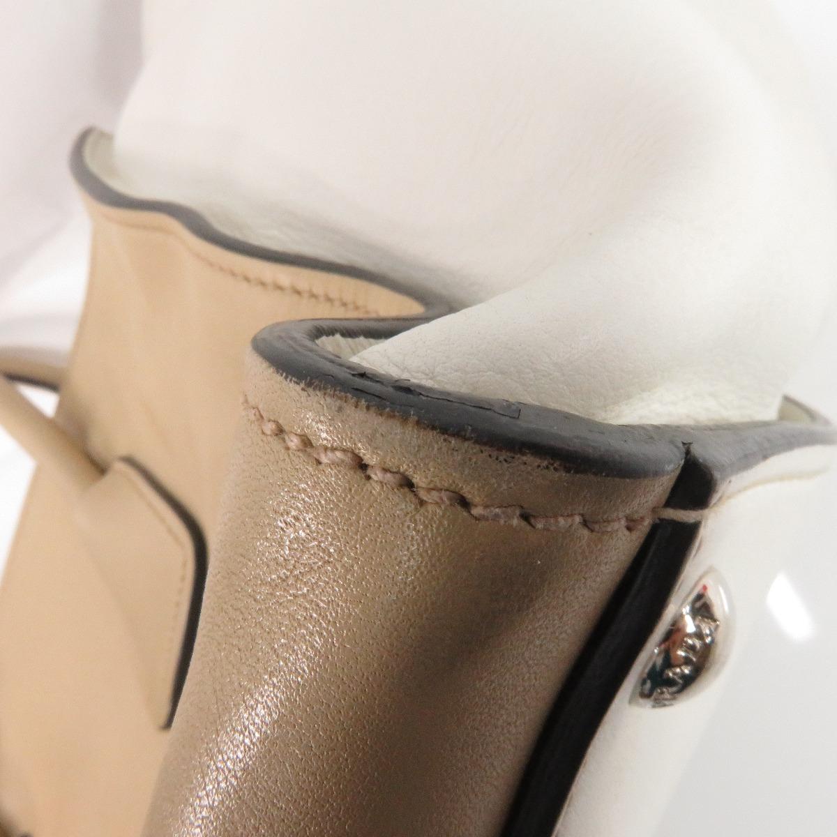 Authentic PRADA  BN2762 2way Tote bag Leather