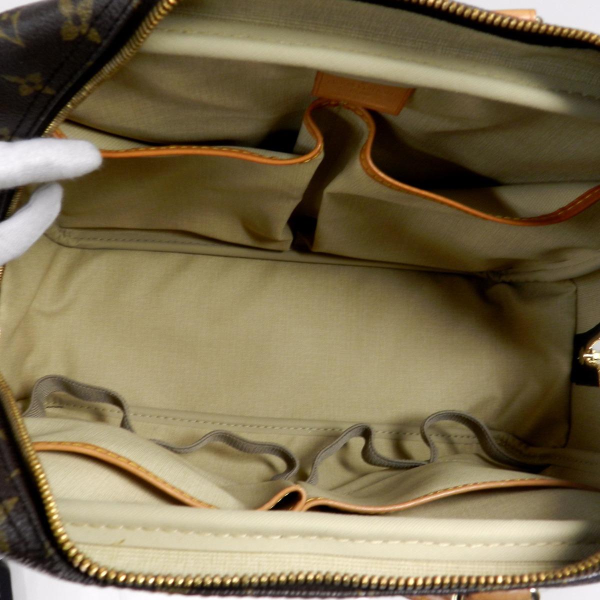LOUIS VUITTON doviru M4727手提包交织字母帆布女士