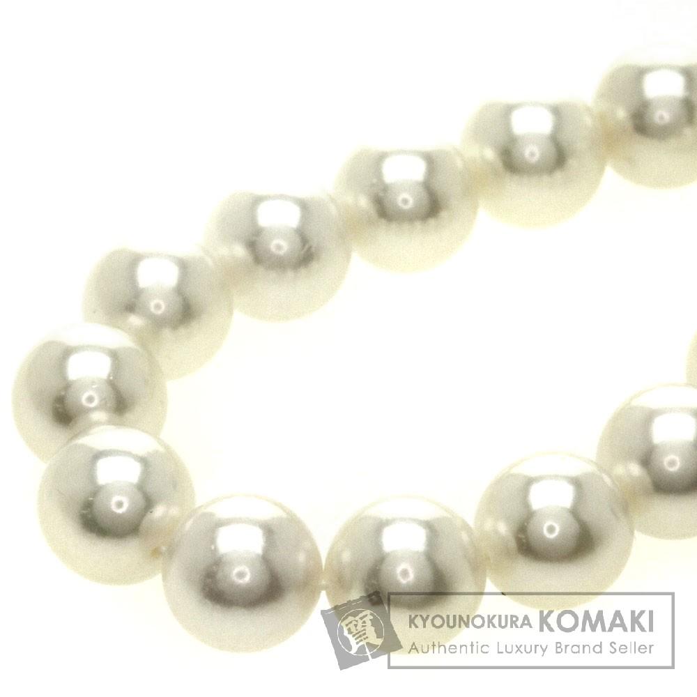 真珠 あこや 準花珠 ネックレス シルバー 47.3g レディース 【中古】