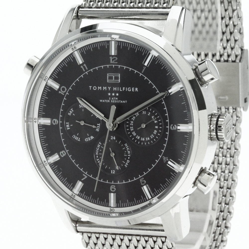 Authentic TOMMY HILFIGER TH191.1.14.1316 Watch stainless steel   Men